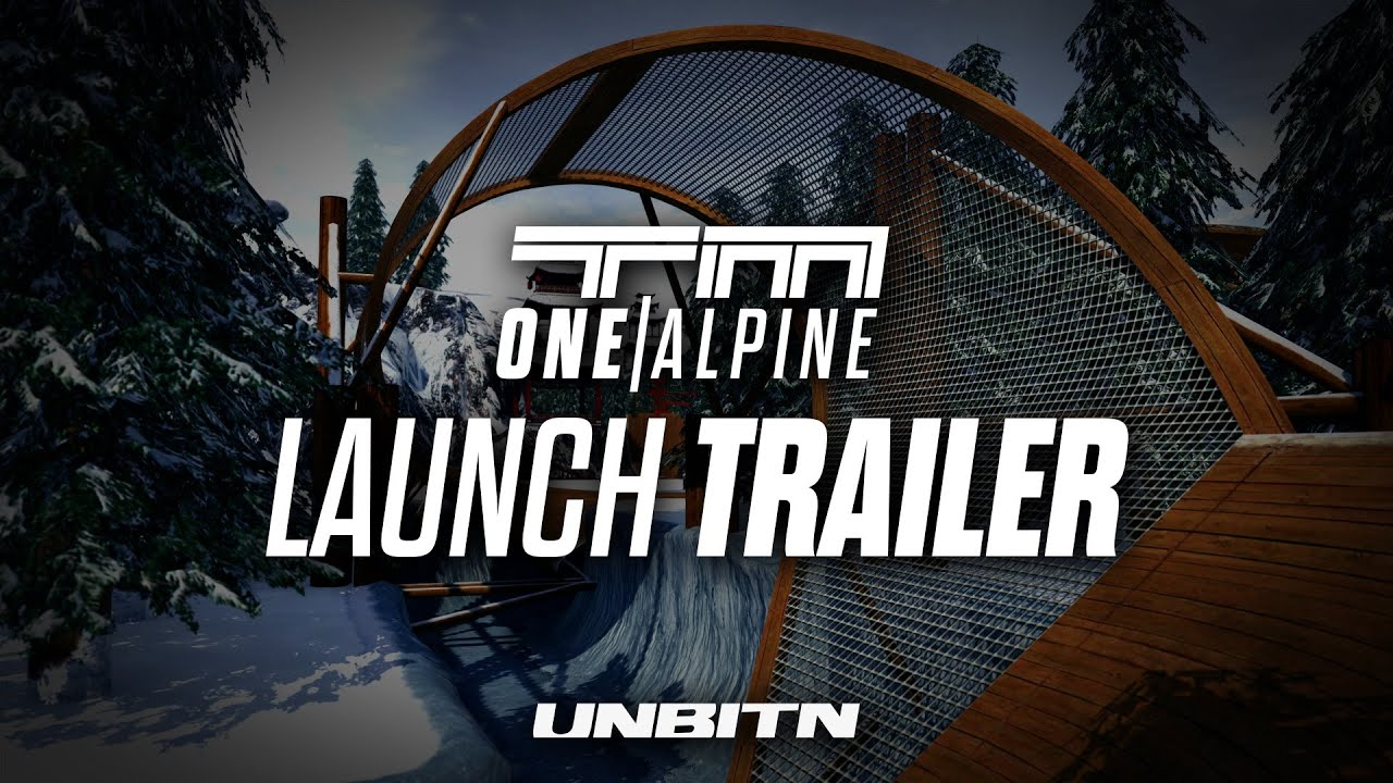 TrackMania One - Alpine   Launch Trailer - eyebo