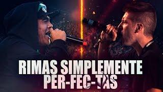 RIMAS SIMPLEMENTE PER-FEC-TAS! | Rimas Perfectas🔥