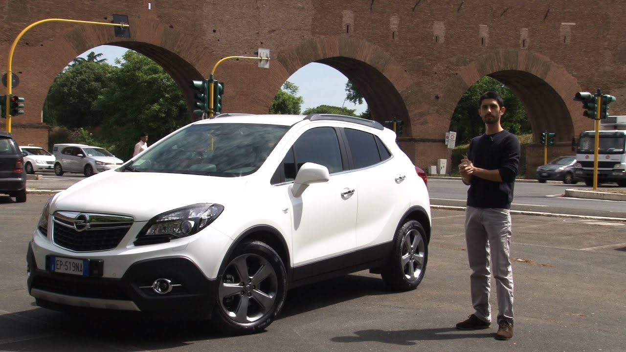 opel mokka prova su strada test drive youtube. Black Bedroom Furniture Sets. Home Design Ideas