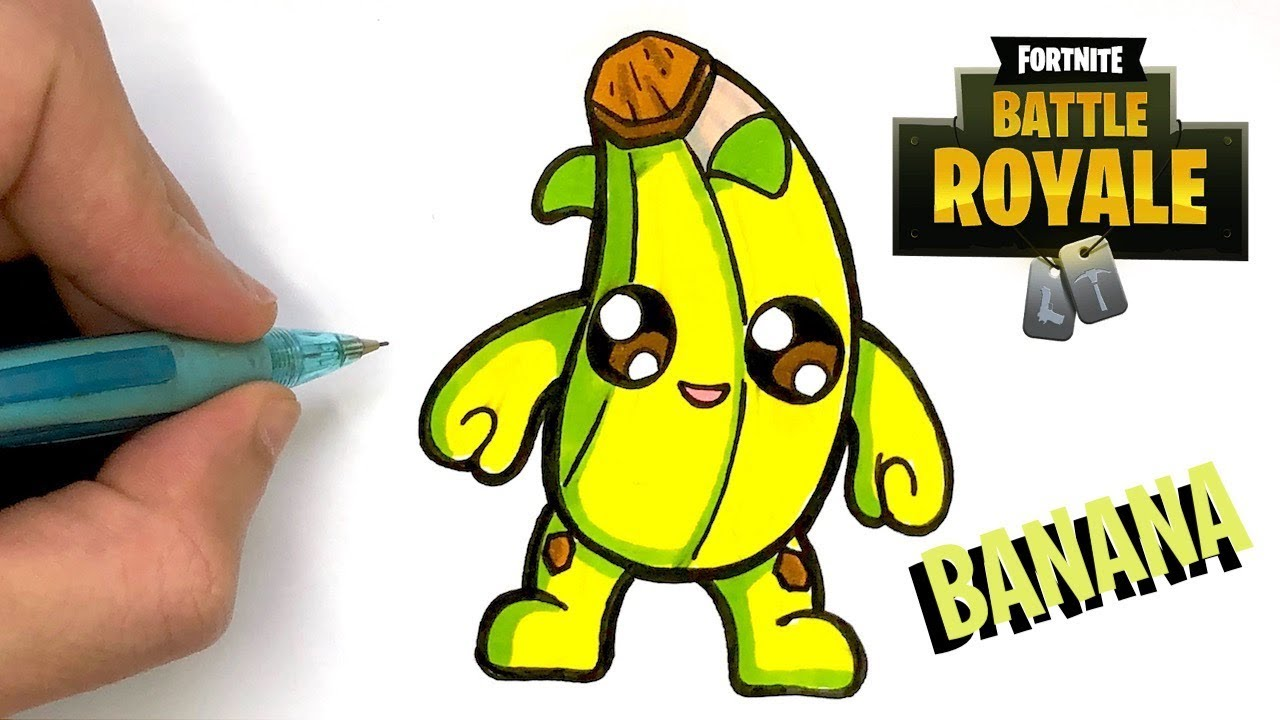 Tuto Baby Pop Banana Verte Fortnite Saison 8 Youtube