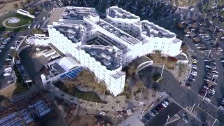 Riverside County Regional Medical Center, California- Aerial View