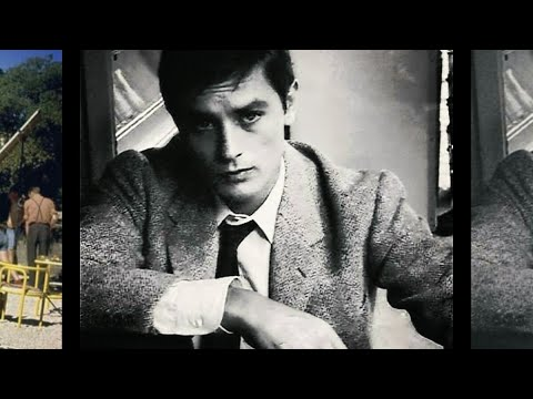Alain Delon - Indian Summer (Joe Dassin - L'ete indien ) with lyrics