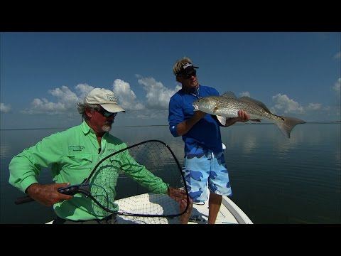Redfish and Trout Fishing in Baffin Bay South Texas