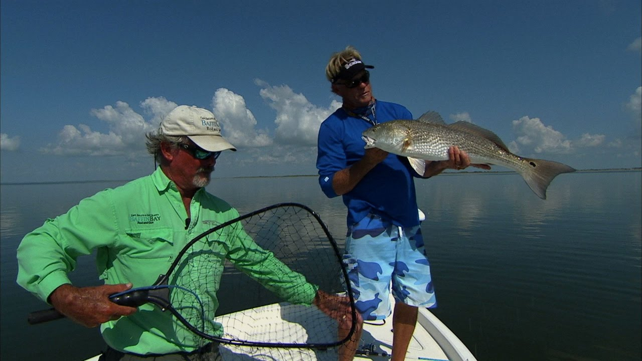 Baffin bay south texas redfish and speckled trout fishing for Trout fishing in texas