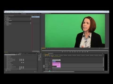 Working with Green Screen in Premiere Pro CC