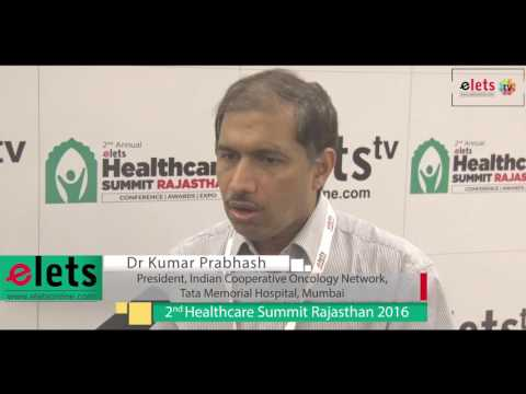 "2nd Health Summit Raj.""16 - Interview - Dr kumar prabhash, President, Indian Coop.."