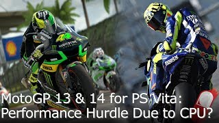 MotoGP 13 & 14 Resolution Hack Framerate Test for PS Vita