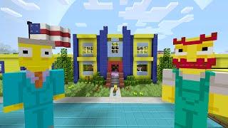 Minecraft Xbox - Survival Madness Adventures - The Simpsons Springfield Elementary School [253]