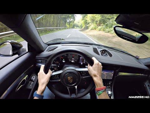 2016 Porsche 991.2 Carrera 4S (Turbo) POV Drive on Winding Roads