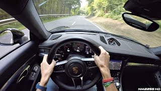 2016 Porsche 991.2 Carrera 4S (Turbo) POV Drive on Winding Roads