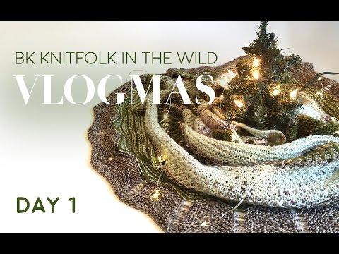VLOGMAS DAY 1: Deck the Halls in Brooklyn Knitfolk