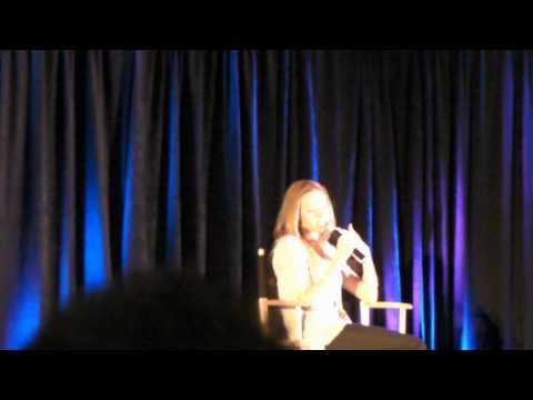 Katherine Boecher at 'Salute to Supernatural' LA feb 2011