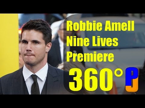 Robbie Amell Nine Lives Premiere (360° Video)