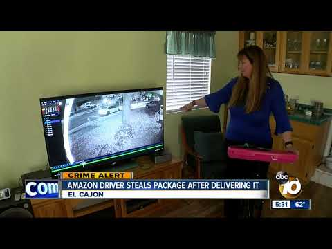 MORNING NEWS - Amazon Driver Caught On Camera Stealing Package