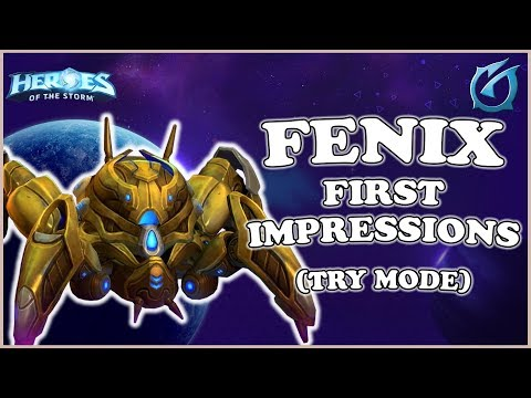 Grubby   Heroes of the Storm - Fenix First Impressions - Try Mode
