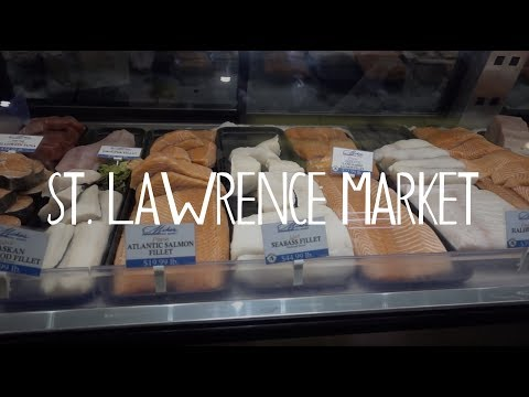 TORONTO, ONTARIO:  Is The St.  Lawrence Market The BEST Food Market In The World?  |  Ep. 3
