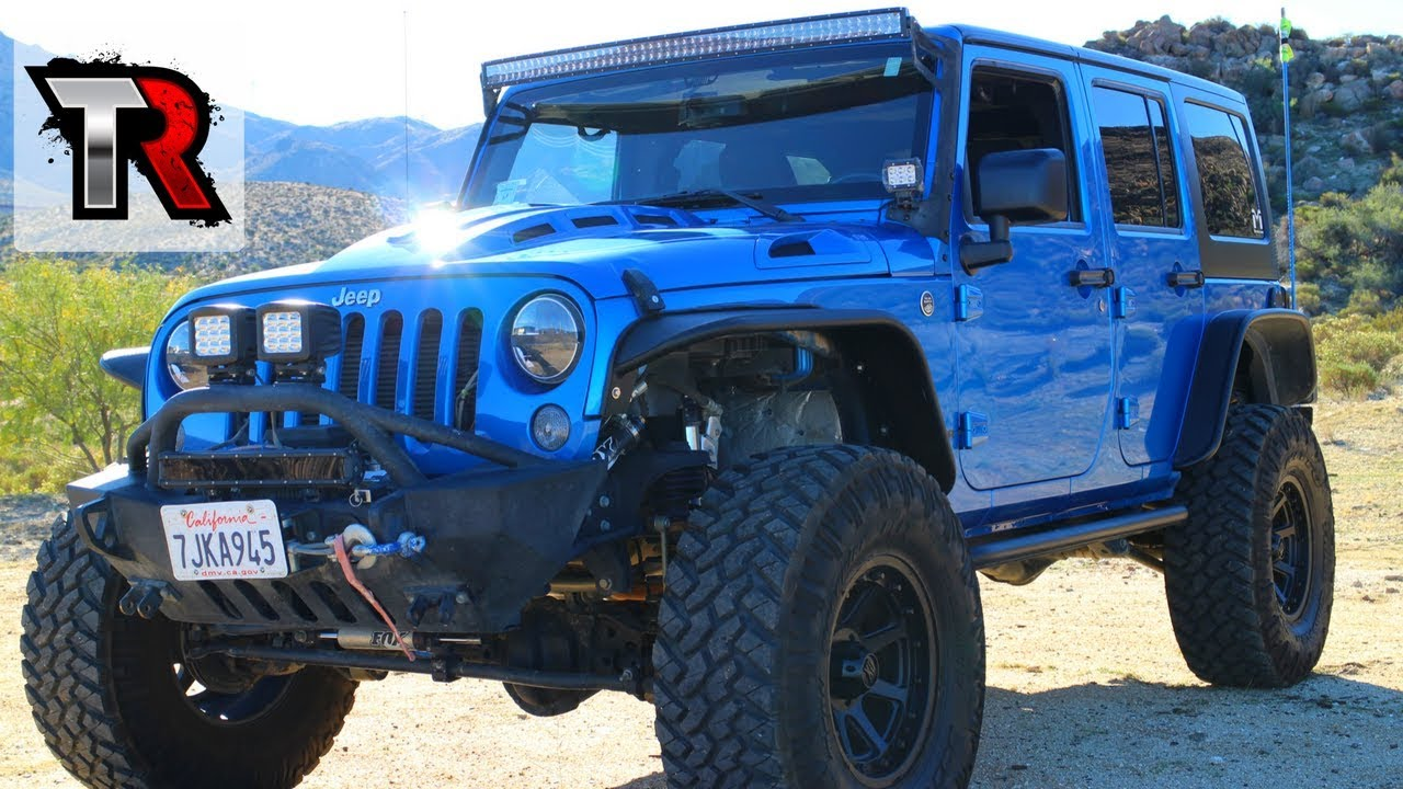 Modified 2015 Jeep Wrangler Review - Rig Walk Around Ep. 5 ...
