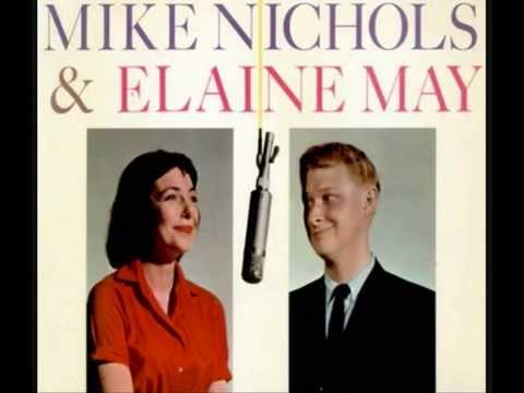 MIKE NICHOLS & ELAINE MAY - Merry Christmas, Doctor - 1962 45rpm