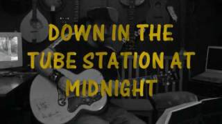 Watch Paul Weller Down In The Tube Station At Midnight video