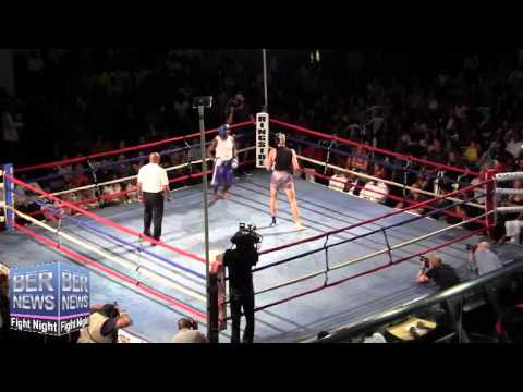 Shamos Hamel vs Jashun Thomas At Fight Night, April 5 2014