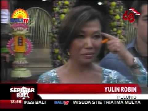 Yulin Solo Painting Exhibition Bali TV News