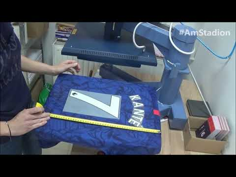 Chelsea FC home jersey 2019/20 with official N'Golo Kanté 7 print