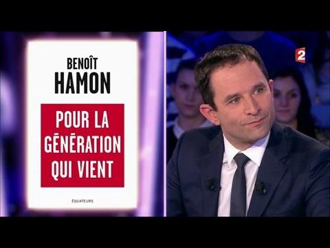 Benoit Hamon - On n'est pas couché 4 mars 2017 #ONPC