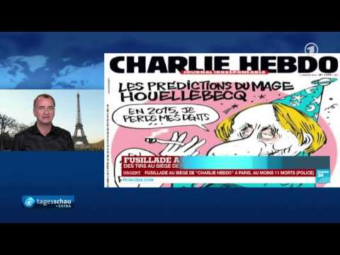 Deutsche Medien #1   , ARD 07.01.2015   Charlie Hebdo