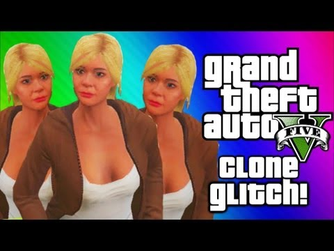 GTA 5 Clone Glitch - Get Out of My House!...
