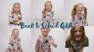 Busby Back To School Interviews