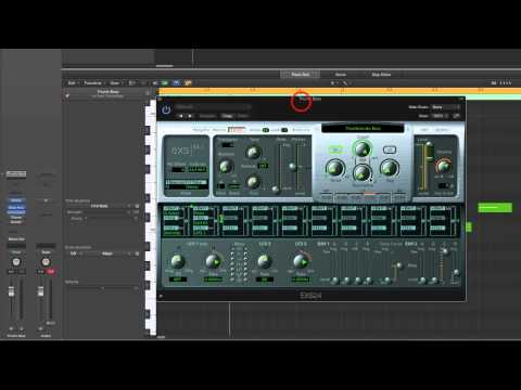 Logic Pro X Making Reggae & Dub (1) One-Drop beat + Setup