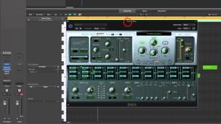 Logic Pro X Making Reggae & Dub (1) One-Drop beat + Setup