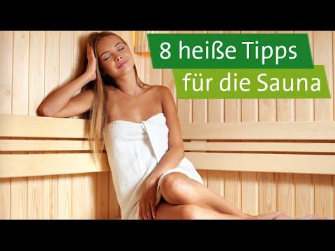 Sauna: 8 heiße Tipps