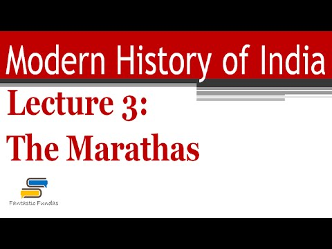 Lec 3 - The Marathas with Fantastic Fundas | Modern History