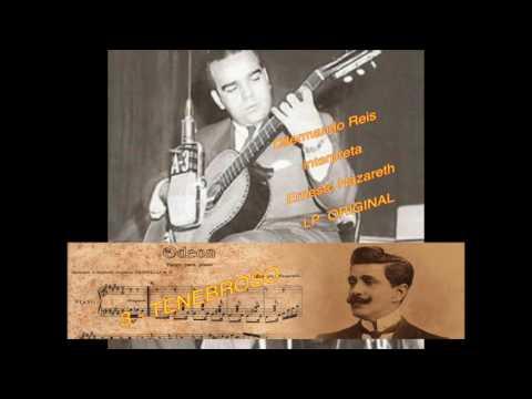 Dilermando Reis Homenagem a Ernesto Nazareth LP Original Completo.