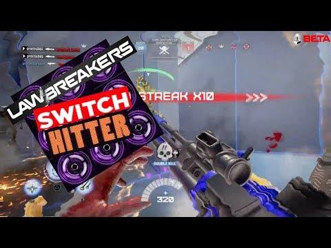 Lawbreakers: Switch Hitter (Vanguard/Enforcer)