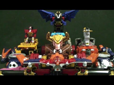 파워레인저 닌자포스 닌자킹 바이슨킹 볼케이노킹 power rangers ninja steel toys