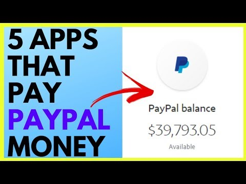 5 APPS THAT PAY YOU PAYPAL MONEY (2019)