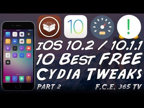 Top 10 Best Free Cydia Tweaks for iOS 10.2...