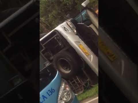 Kecelakaan bus wisata di tanjakan emen subang jabar