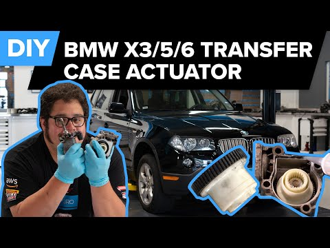 BMW 2004-2010 X3 Transfer Case Actuator & Fluid Replacement DIY (BMW E83 X3, 2004-2014 X5, 08-14 X6)