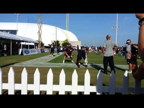 JJ Watt and Antonio Smith Practice Drills