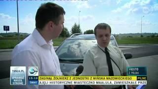 09.09.2013 - TVN24 - Prosto z Polski - Mandat za nadmierną prędkość? Nie tym razem.