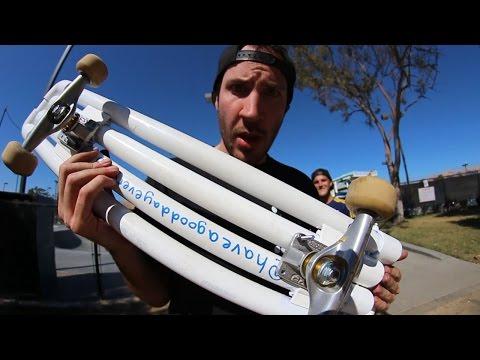 PVC SKATEBOARD! | YOU MAKE IT WE SKATE IT EP 22