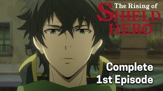 The Rising of the Shield Hero Ep. 1 Dub | The Shield Hero