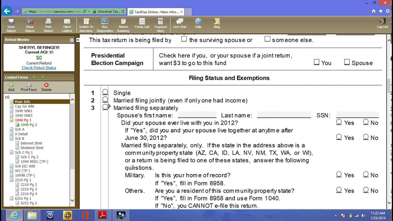 Tax wise online sheryl beringer part 1of 3 youtube tax wise online sheryl beringer part 1of 3 falaconquin
