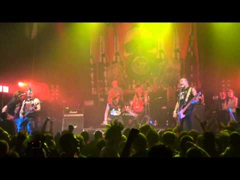 The Casualties -  Under Attack + Punx & Skins (live in Minsk - 16.04.14)