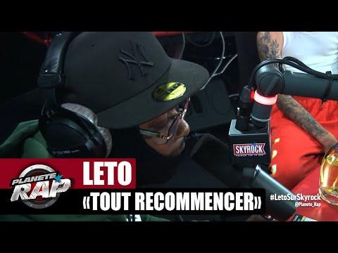 Youtube: Leto«Tout recommencer» #PlanèteRap