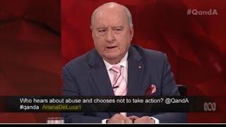 Alan Jones defending George Pell on the QandA program 7-3-16