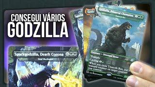 Vários Godzilla na Booster Box de COLECIONADOR de IKORIA | Magic The Gathering Unboxing